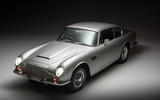 98 Aston Martin DB6 Lunaz EV conversion offical images static front