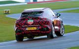 2020 Aston Martin DBX camouflaged prototype ride - hero rear