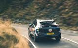 Aston Martin DBX 2020 prototype drive - hero rear