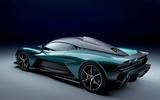 98 Aston Martin Valhalla official reveal rear