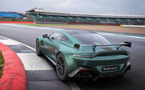 98 Aston Martin Vantage F1 Edition official reveal images track rear