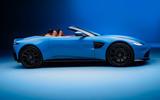 Aston Martin Vantage Roadster 2020 - official press images - side