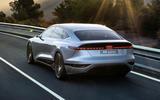 98 Audi A6 E tron Concept official tracking rear
