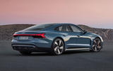 98 Audi E tron GT 2021 official reveal static rear
