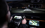 Audi E-tron Sportback prototype matrix headlights - motorways