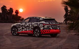 Audi e-Tron 2019 prototype first drive review - static rear