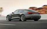 Auto E-tron GT concept official press reveal - hero rear