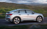 98 Audi Q4 etron 2021 official reveal tracking side