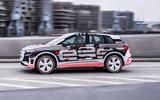 98 Audi Q4 Etron 2021 prototype drive hero side