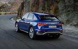 Audi Q5 Sportback 2020 official images - hero rear