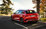 98 Audi RS3 2021 official reveal hatch hero rear