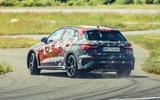 98 Audi RS3 2021 prototype ride hero rear