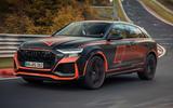 Audi RS Q8 2020 camo ride - hero front