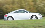 98 Audi TT mk1 Bauhaus feature 2021 tracking side