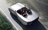 98 Aura electric speedster concept 2021 reveal rear