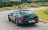 98 Bentley Flying Spur PHEV 2021 official images hero rear