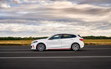 BMW 1 Series 128ti official reveal - tracking side