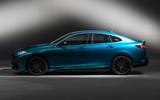 BMW 2 Series Gran Coupé studio reveal - side