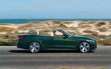 2021 BMW 4 Series Convertible official images - tracking side