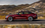 98 BMW 4 Series Gran coupe 2021 official reveal images hero side