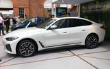 98 BMW i4 2021 Goodwood side