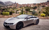 BMW i8 Roadster 2018 first drive review static hero