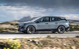 98 BMW iX prototype ride 2021 hero side