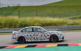 2020 BMW M3 prototype first drive - hero side
