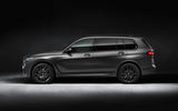 BMW X7 Dark Shadow Edition 2020 official images - side