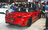 2019 BMW Z4 official reveal Pebble Beach - static rear