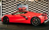 98 Corvette C8 RHD 2021 official reveal side