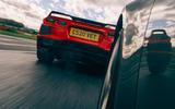 Corvette C8 vs Porsche 911 UK - tracking rear
