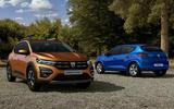 Dacia Sandero 2021 official images - rear