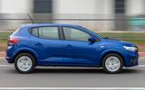 Dacia Sandero 2021 UK official images - side