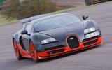 98 fastest cars tested by Autocar Bugatti Veyron Supersport