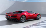 98 Ferrari 296 GTB 2021 official reveal hero rear