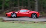 Ferrari 488 GTB rewind - tracking side