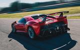 Ferrari P80/C 2019 reveal official pictures - hero rear