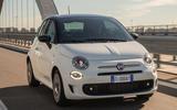 98 Fiat 500 Hey Google 500 tracking front