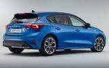 98 Ford Focus 2021 refresh official images st line rear