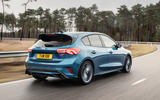 Ford Focus ST 2019 first ride - hero rear