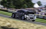 98 Ford Puma Rally1 WRC Goodwood 2021 rear