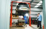 98 Good Guys Garage EV servicing feature ramp