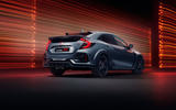 Honda Civic Type R Sport Line 2020 official press photos - rear
