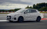 2021 Hyundai i20 N prototype drive - hero side