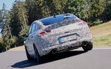 2021 Hyundai i30 Fastback N prototype drive - hero rear