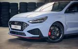 Hyundai i30 N 2020 facelift official images - nose