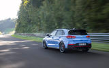 Hyundai i30 N 2020 facelift official images - track rear