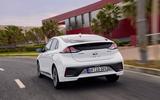 Hyundai Ioniq 2019 facelift official press - hero rear