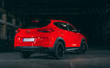Hyundai Tucson N Line 2019 reveal - hero rear